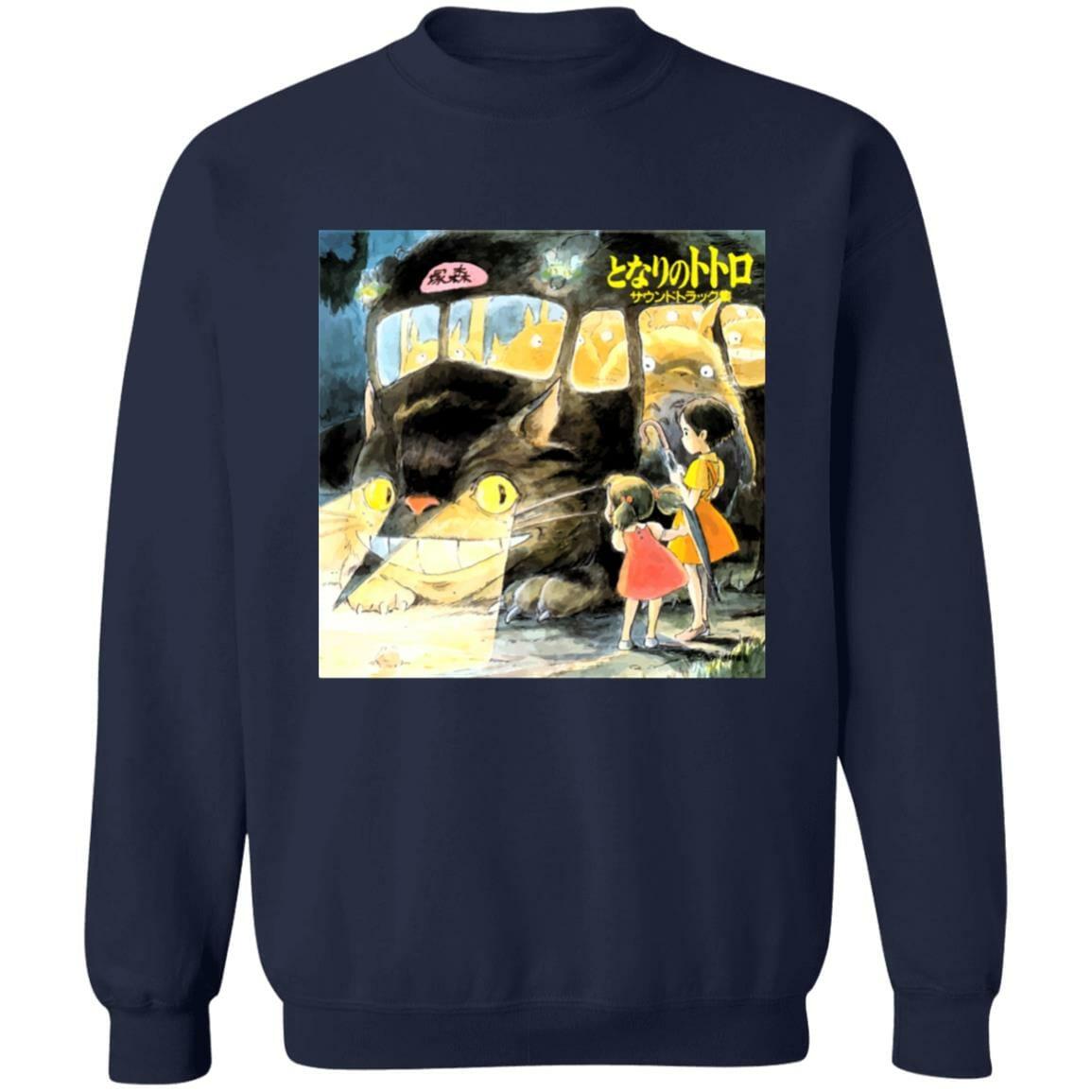 My Neighbor Totoro – Midnight Cat Bus Sweatshirt Unisex