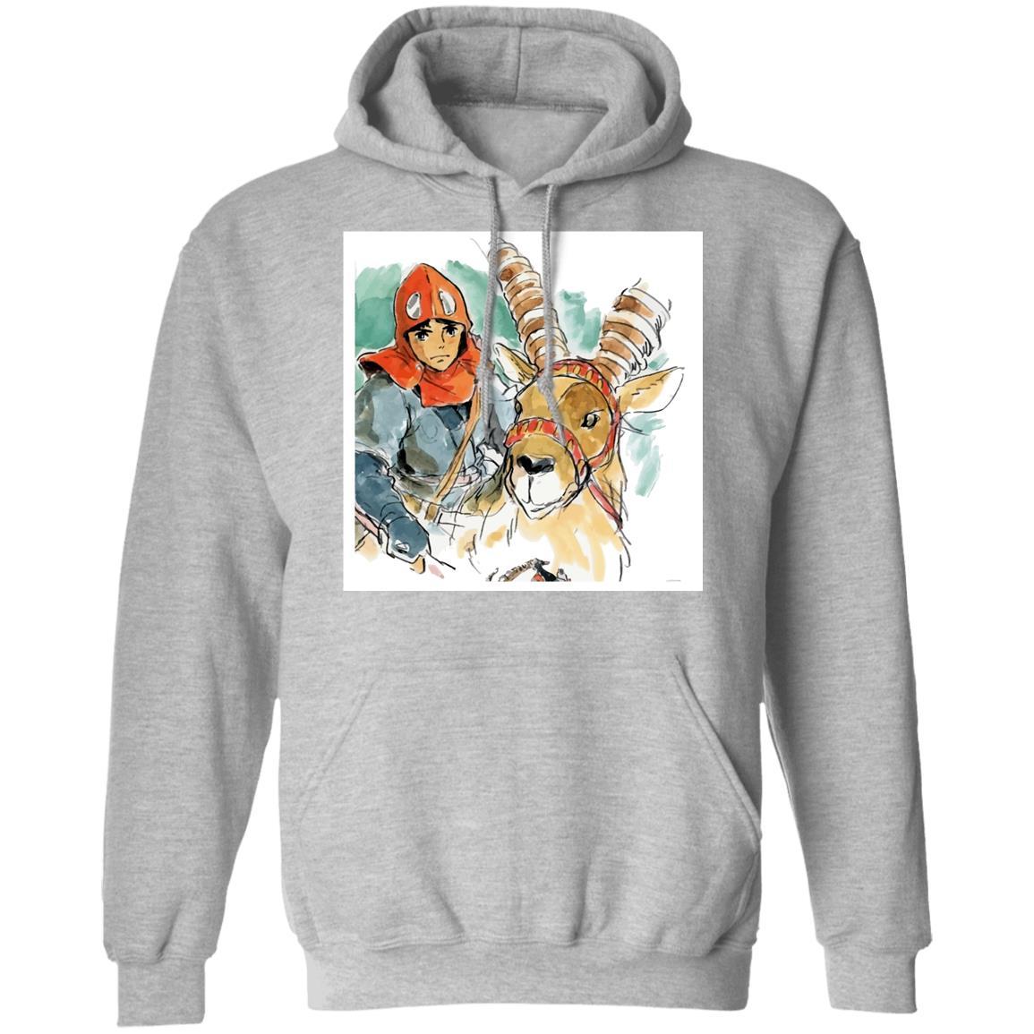 Princess Mononoke – Ashitaka Water Color Hoodie