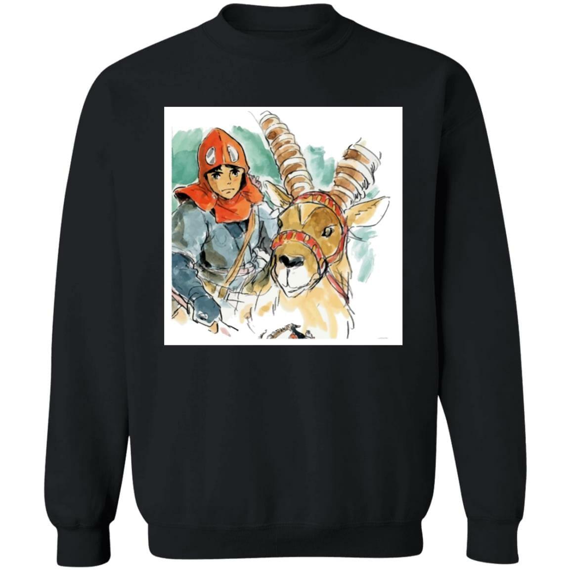 Princess Mononoke – Ashitaka Water Color Sweatshirt
