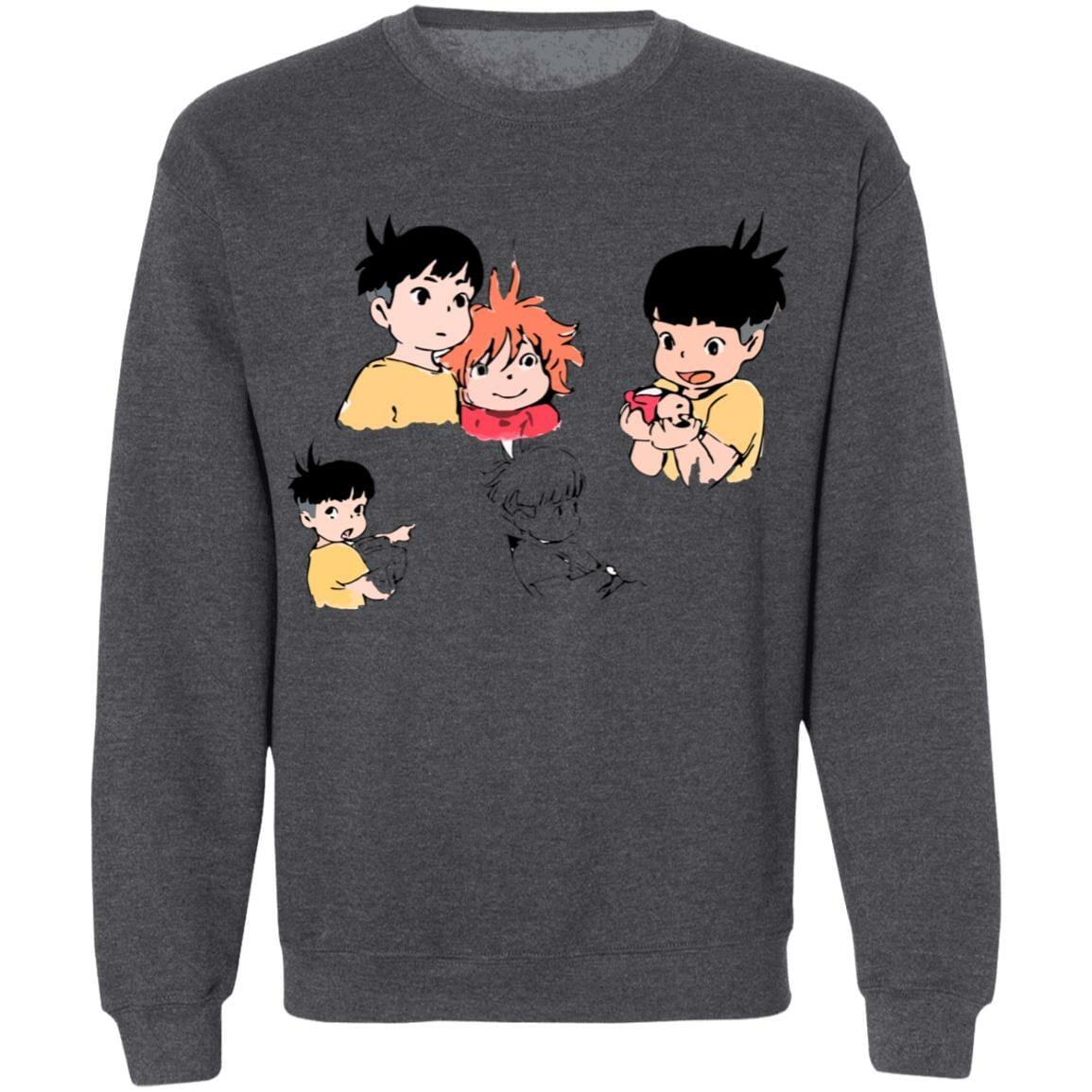 Ponyo and Sosuke Sketch Sweatshirt