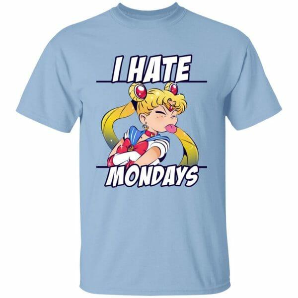 Sailor Moon – I Hate Mondays T Shirt