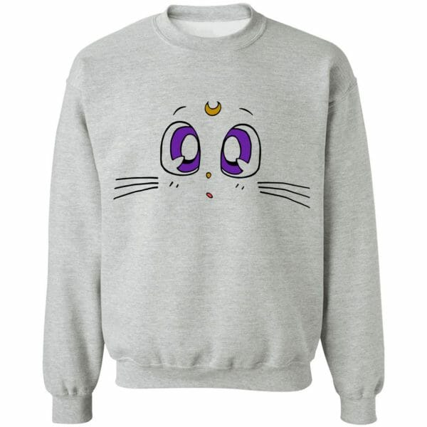 Sailor Moon – Luna's Face Sweatshirt