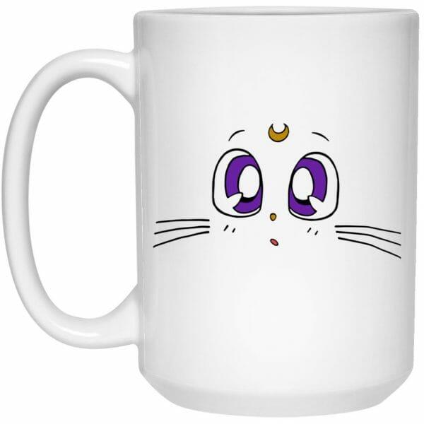 Sailor Moon – Luna's Face Mug
