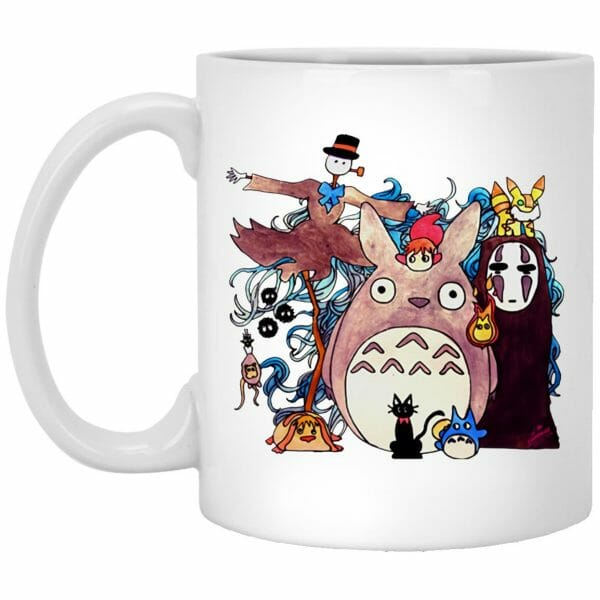 Studio Ghibli Characters Mug