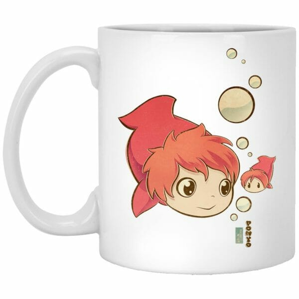 Ponyo Chibi Mug