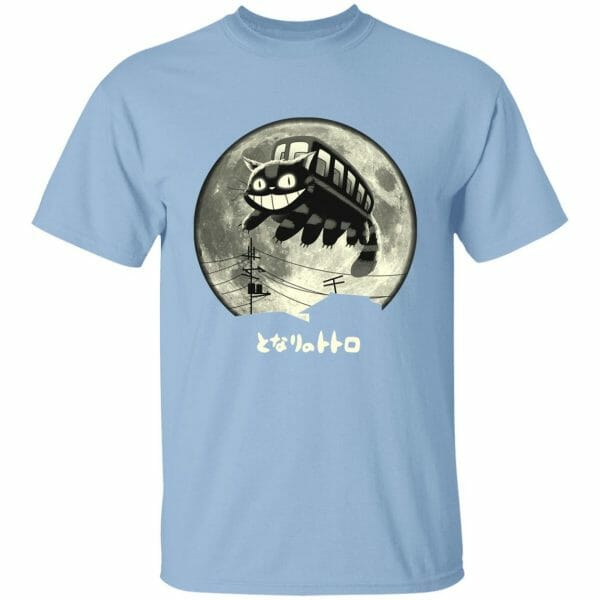 Cat Bus in The Sky T Shirt