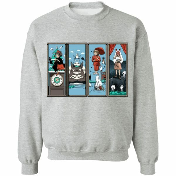 Ghibli Most Famous Movies Collection Sweatshirt