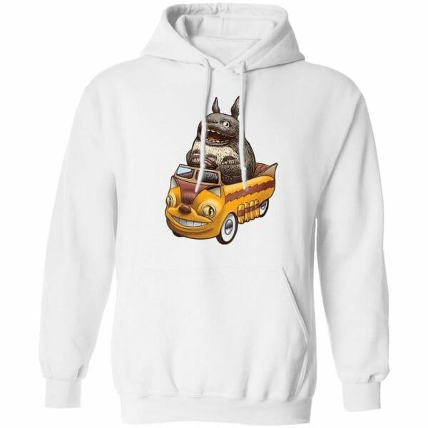 Totoro driving Catbus Hoodie