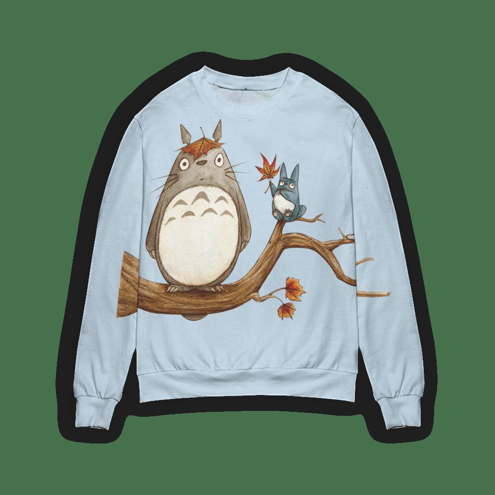 Totoro on the Autumn Tree 3D Sweater