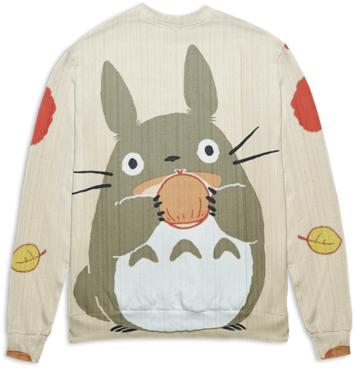 Totoro and the Chestnut 3D Sweater