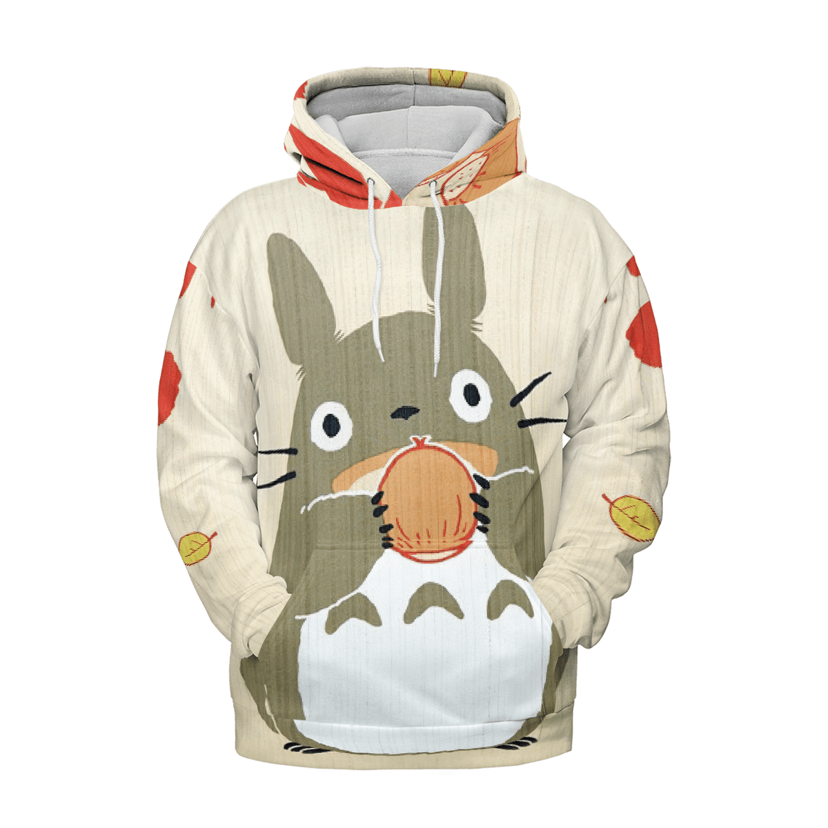 Totoro and the Chestnut 3D Hoodie