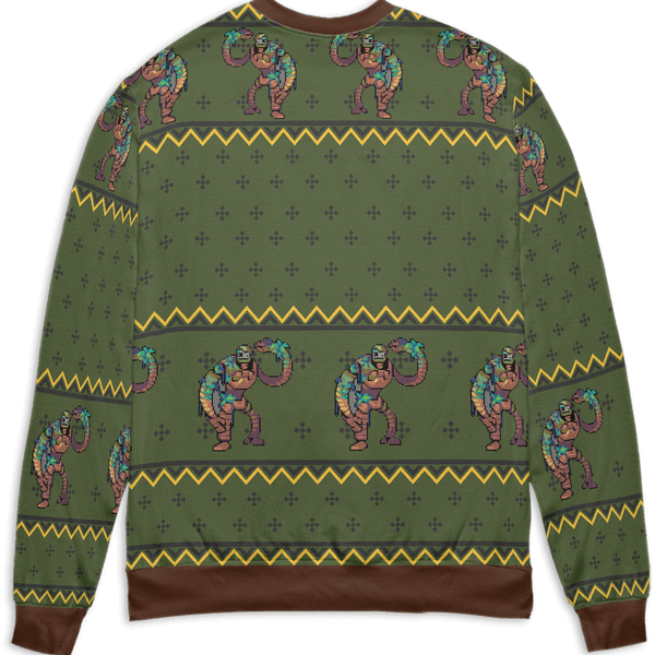 Castle in the Sky – Warrior Robot 3D Ugly Christmas Sweater