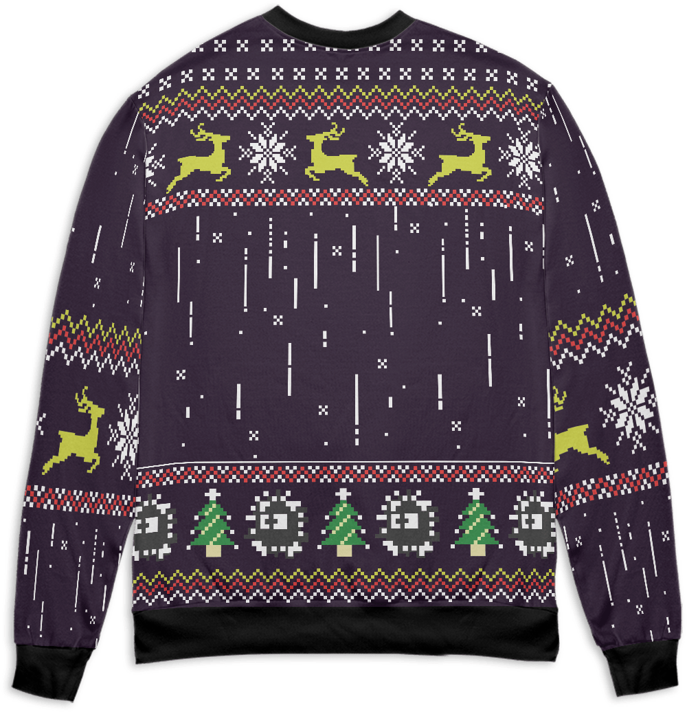 Totoro – The Ugly Christmas Sweater Style 1