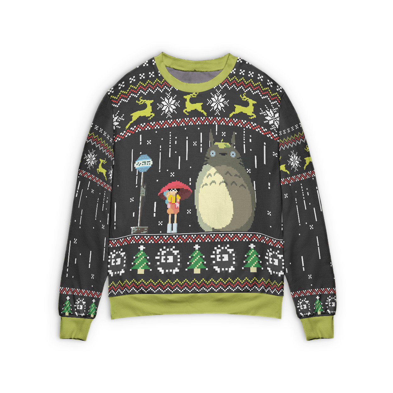 Totoro – The Ugly Christmas Sweater Style 2