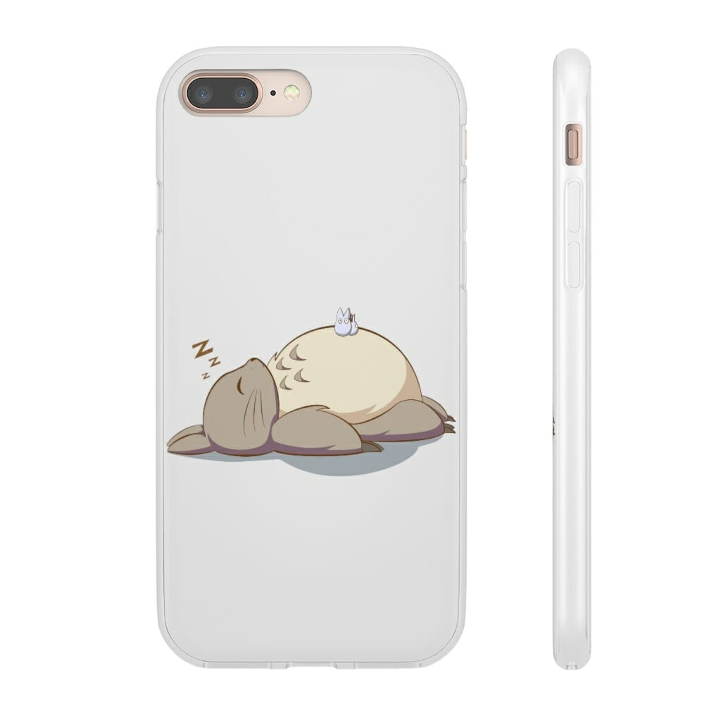 Sleeping Totoro iPhone Cases