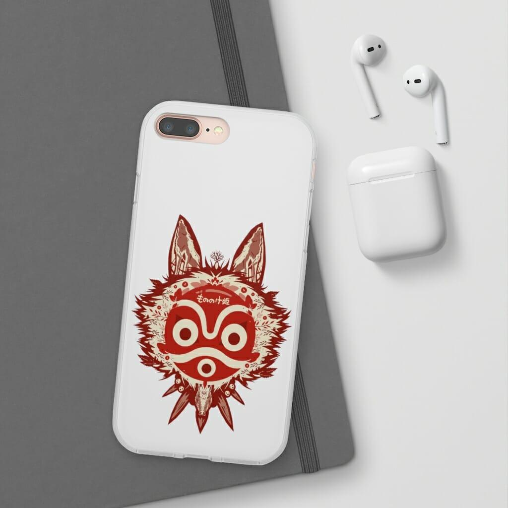 Princess Mononoke Mask iPhone Cases