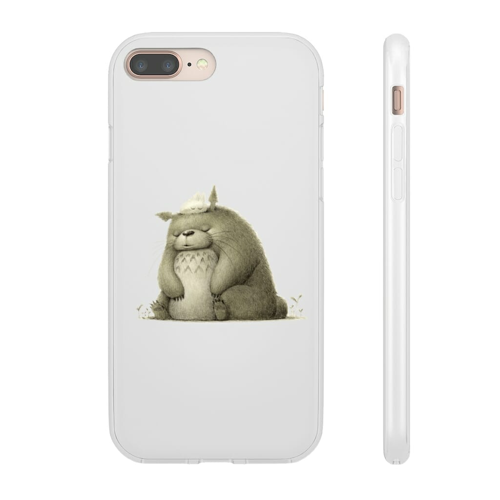 The Fluffy Totoro iPhone Cases