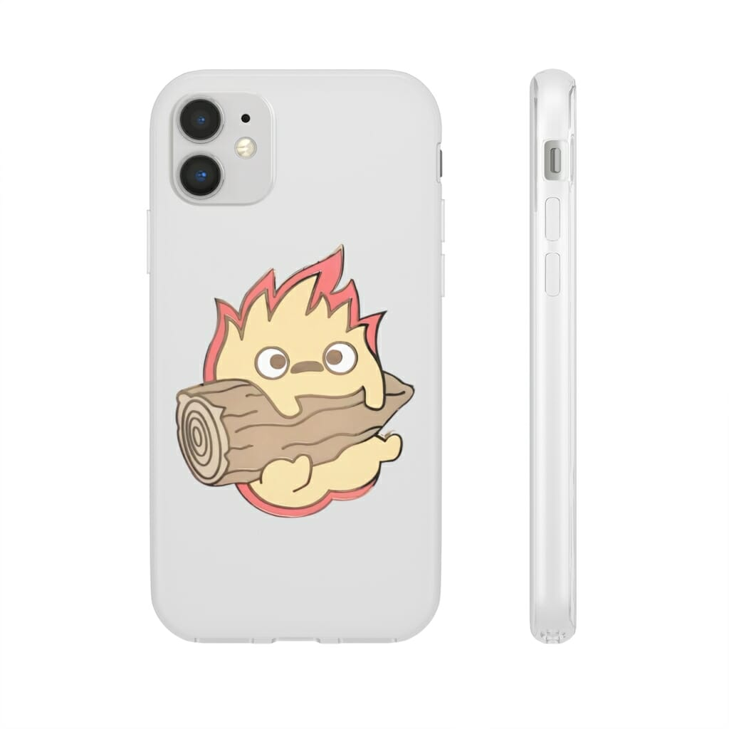 Howl's Moving Castle – Calcifer Chibi iPhone Cases
