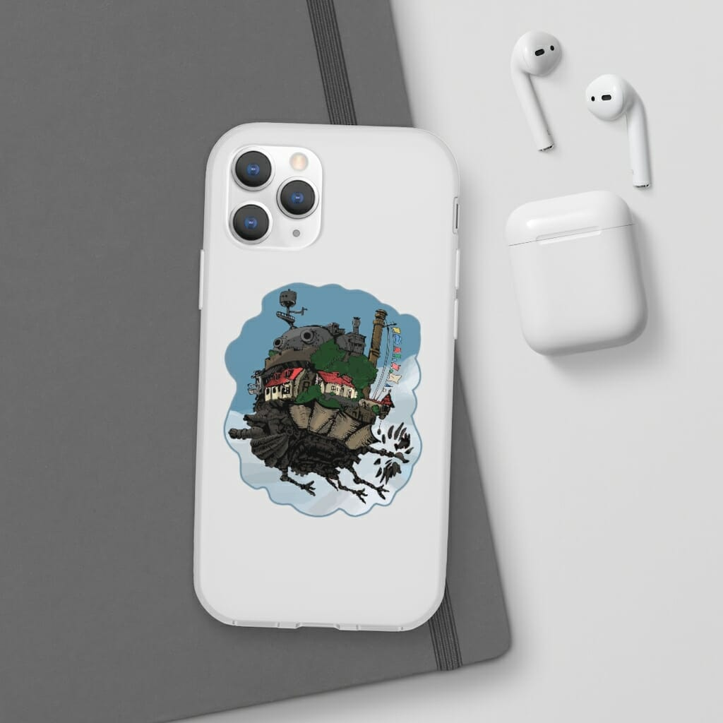Howl's Moving Castle Classic Color iPhone Cases