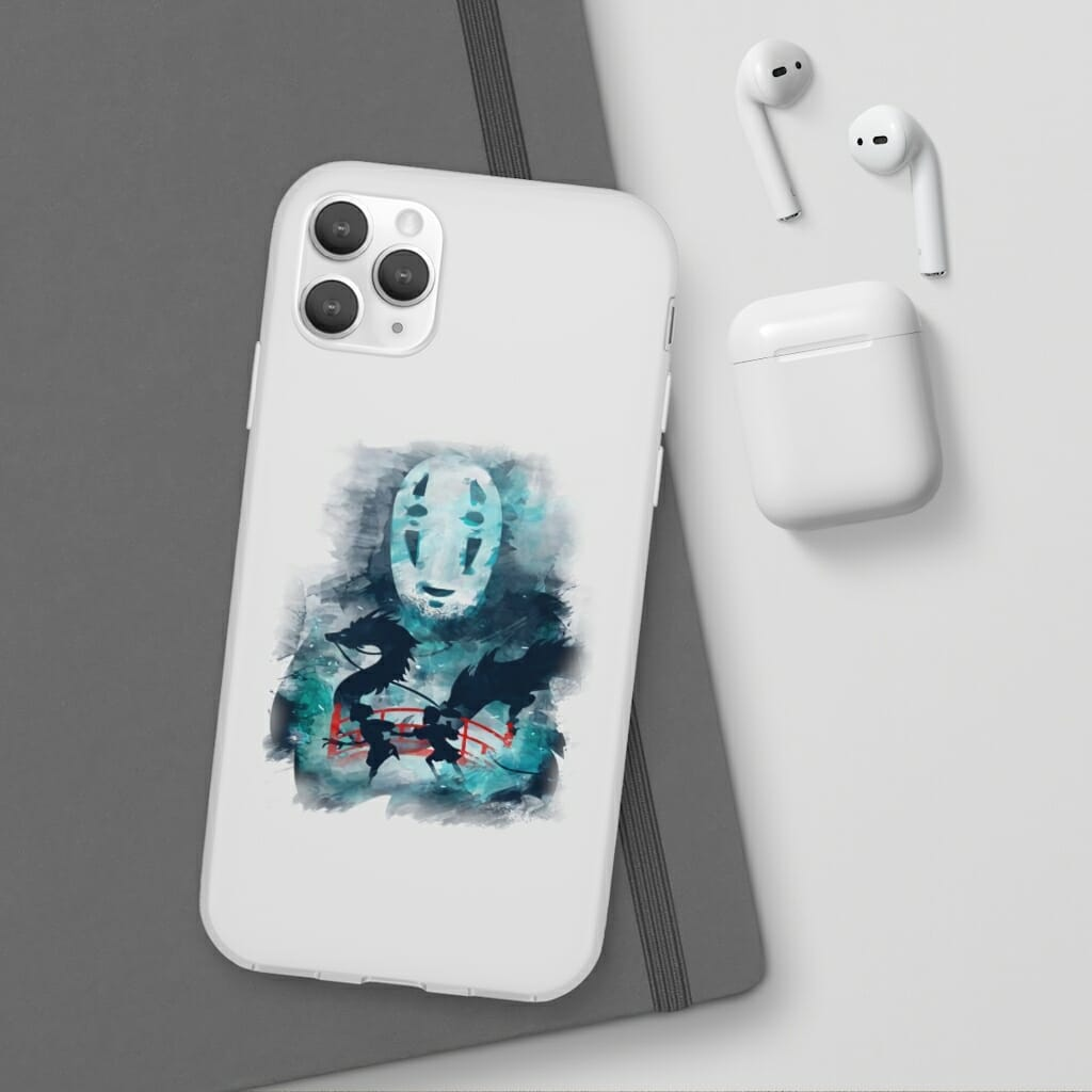 Spirited Away Water Color iPhone Cases