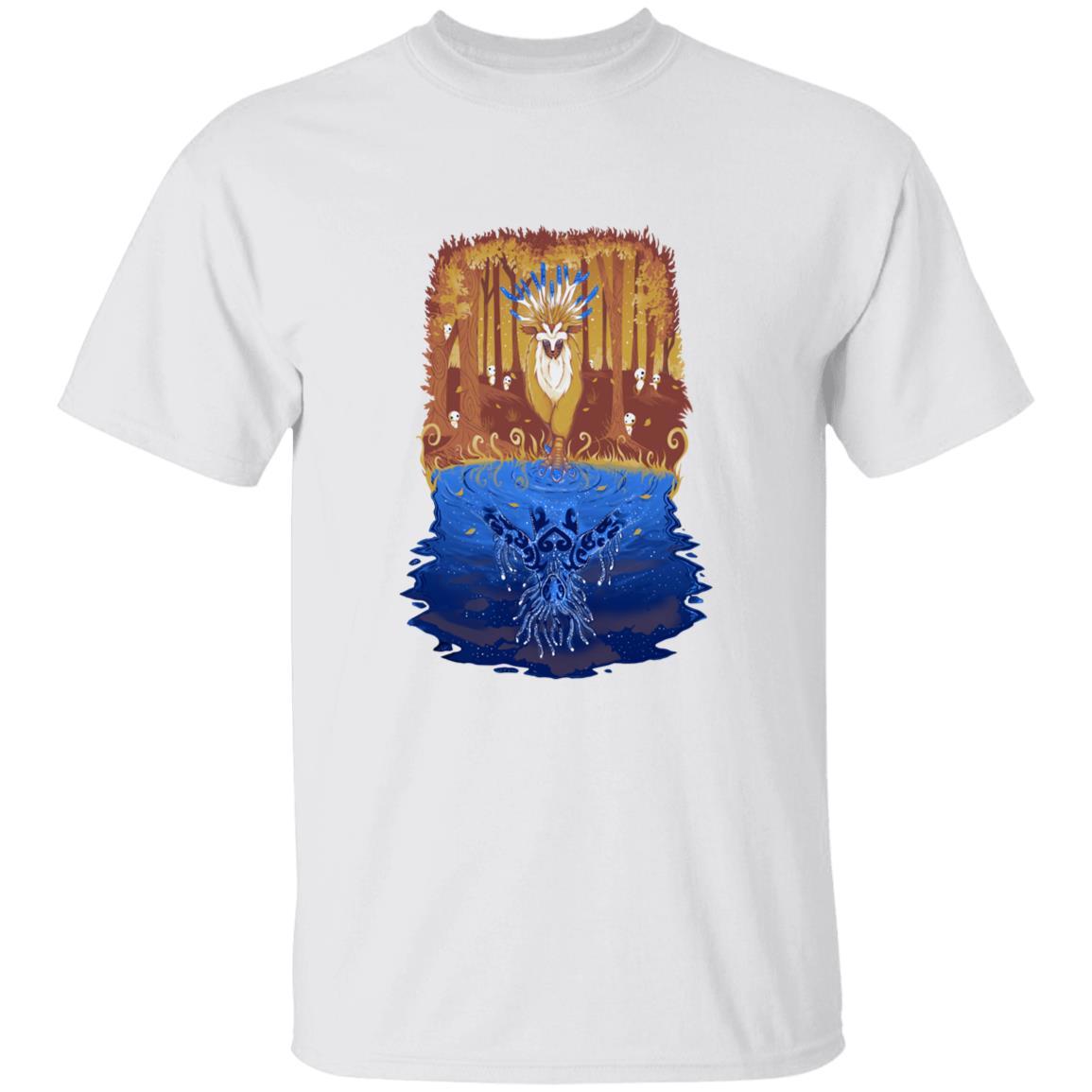 Princess Mononoke Shishigami Day and Night time T Shirt