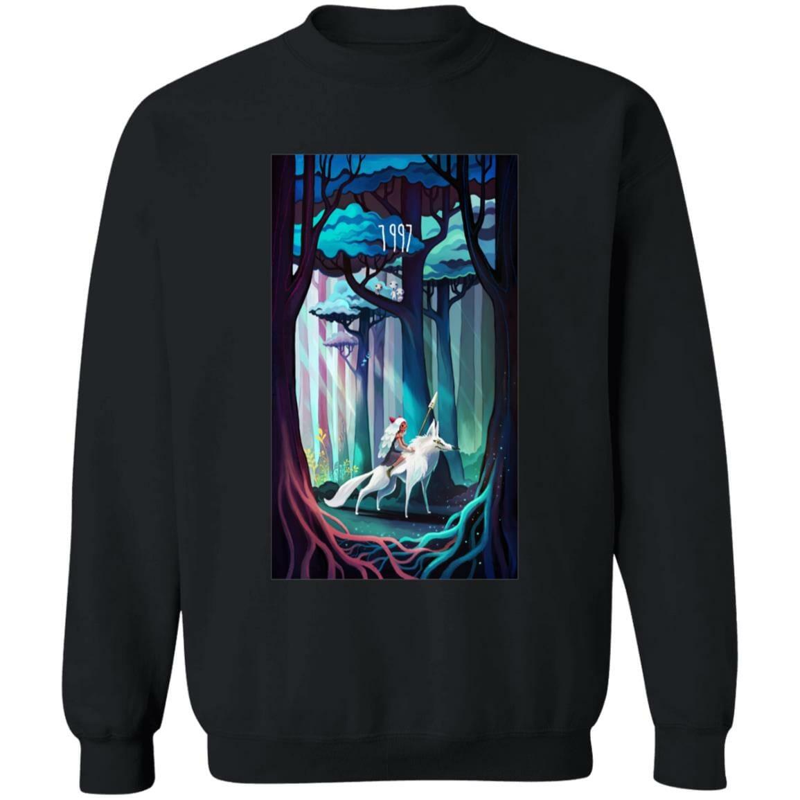 Princess Mononoke 1997 Illustration Sweatshirt
