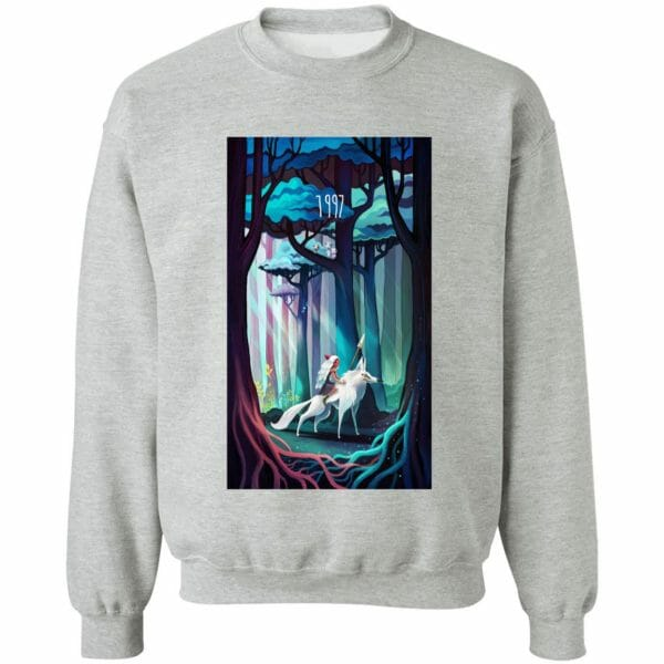 Princess Mononoke 1997 Illustration T Shirt