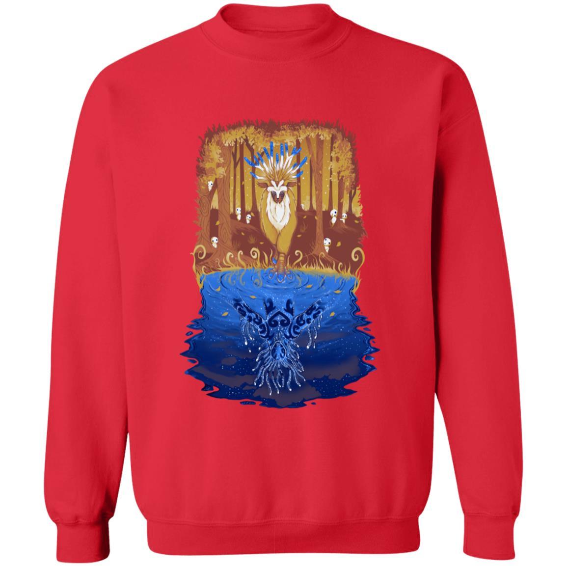 Princess Mononoke Shishigami Day and Night time Sweatshirt
