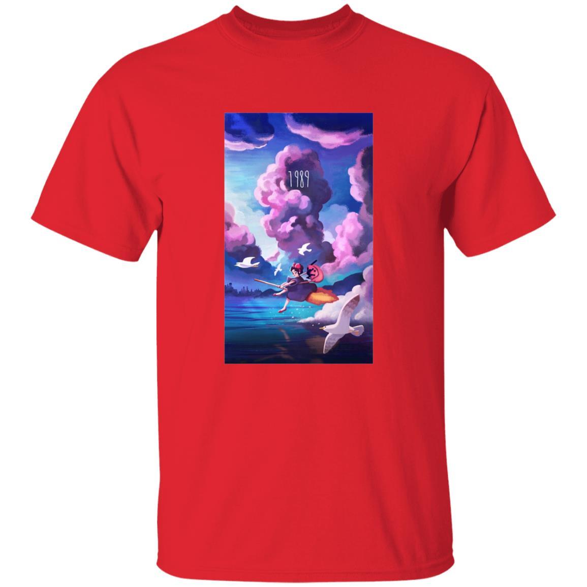 Kiki's Delivery service 1989 Illustration T Shirt