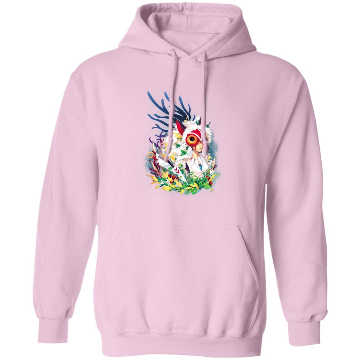 Princess Mononoke Colorful Portrait Hoodie
