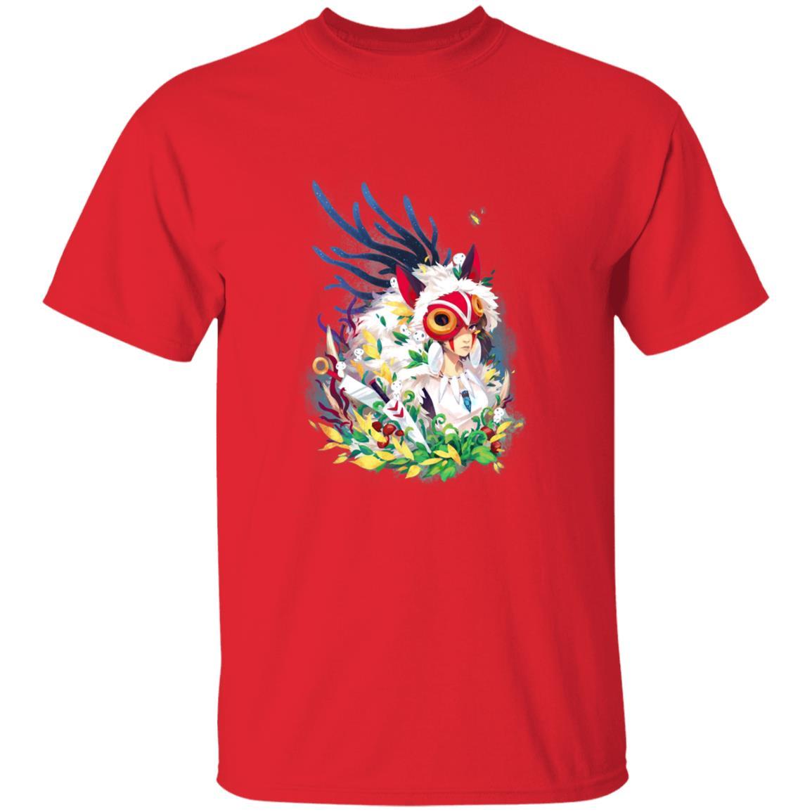 Princess Mononoke Colorful Portrait T Shirt