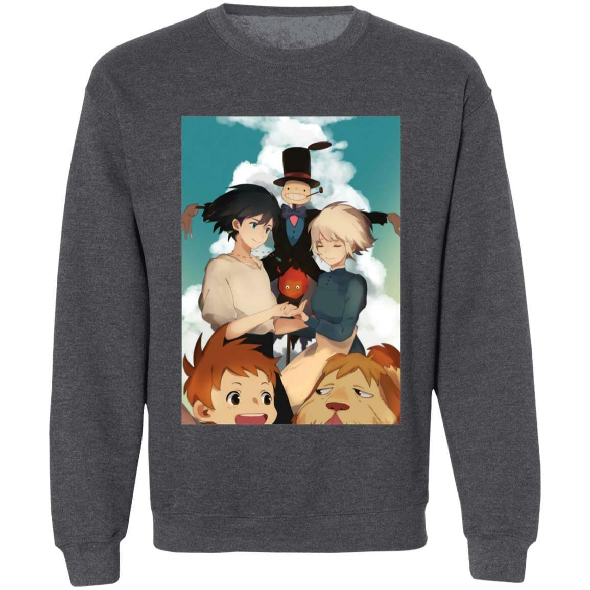 Howl's Moving Castle – Happy Ending Sweatshirt