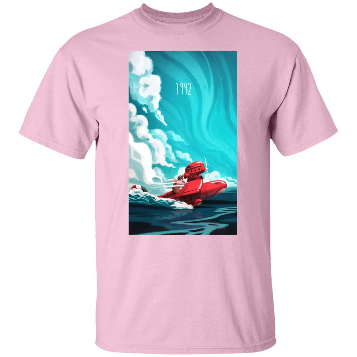 Porco Rosso 1982 Illustration T Shirt