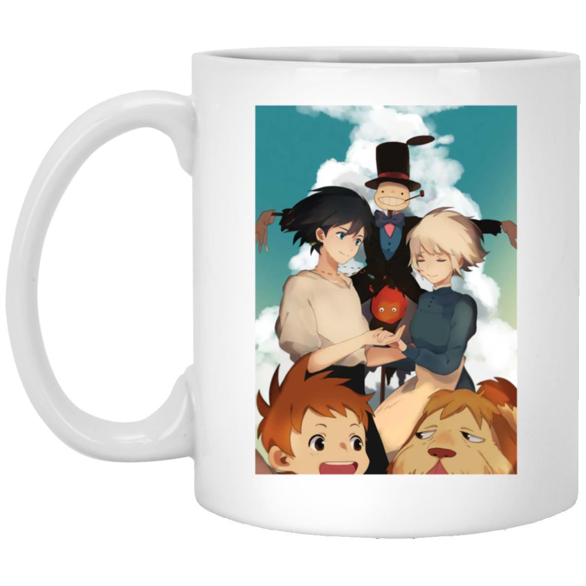 Howl's Moving Castle – Happy Ending Mug