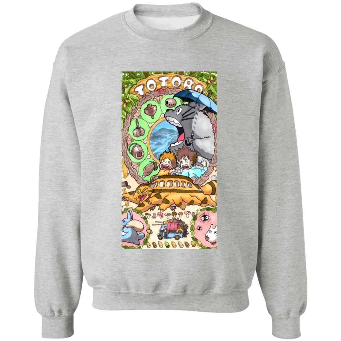 Totoro Portrait art Sweatshirt
