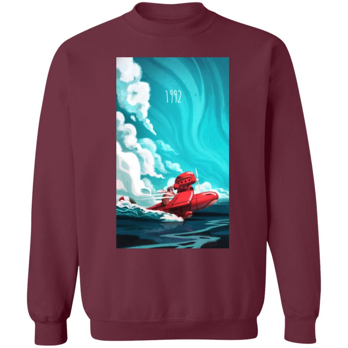 Porco Rosso 1982 Illustration Sweatshirt