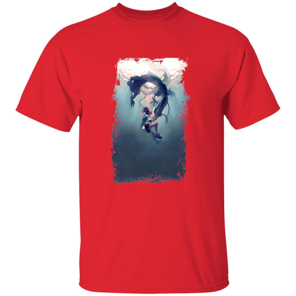 Spirited Away – Chihiro and Haku under the Water T Shirt