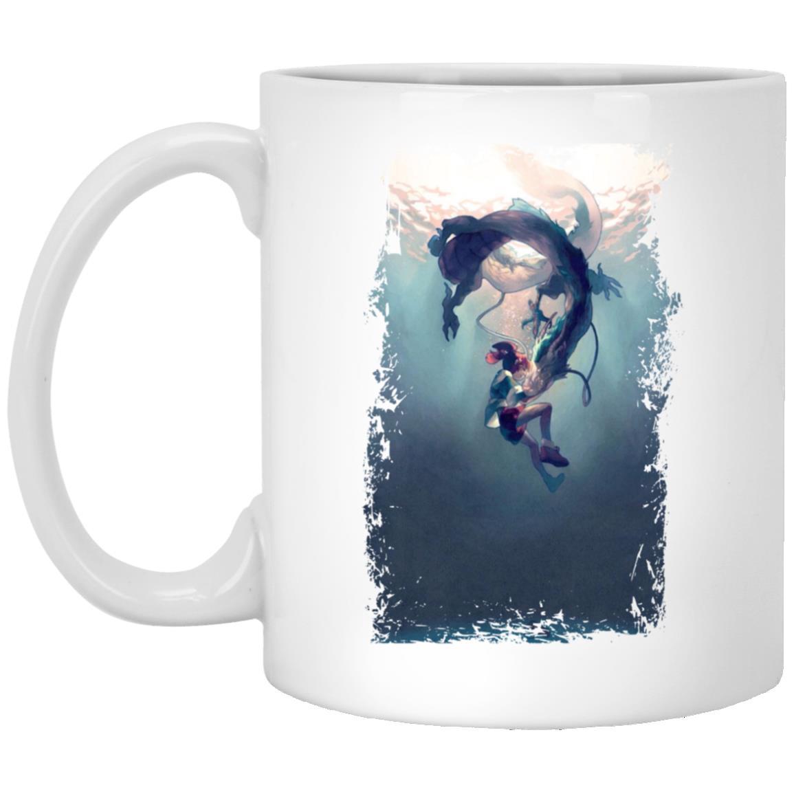 Spirited Away – Chihiro and Haku under the Water Mug