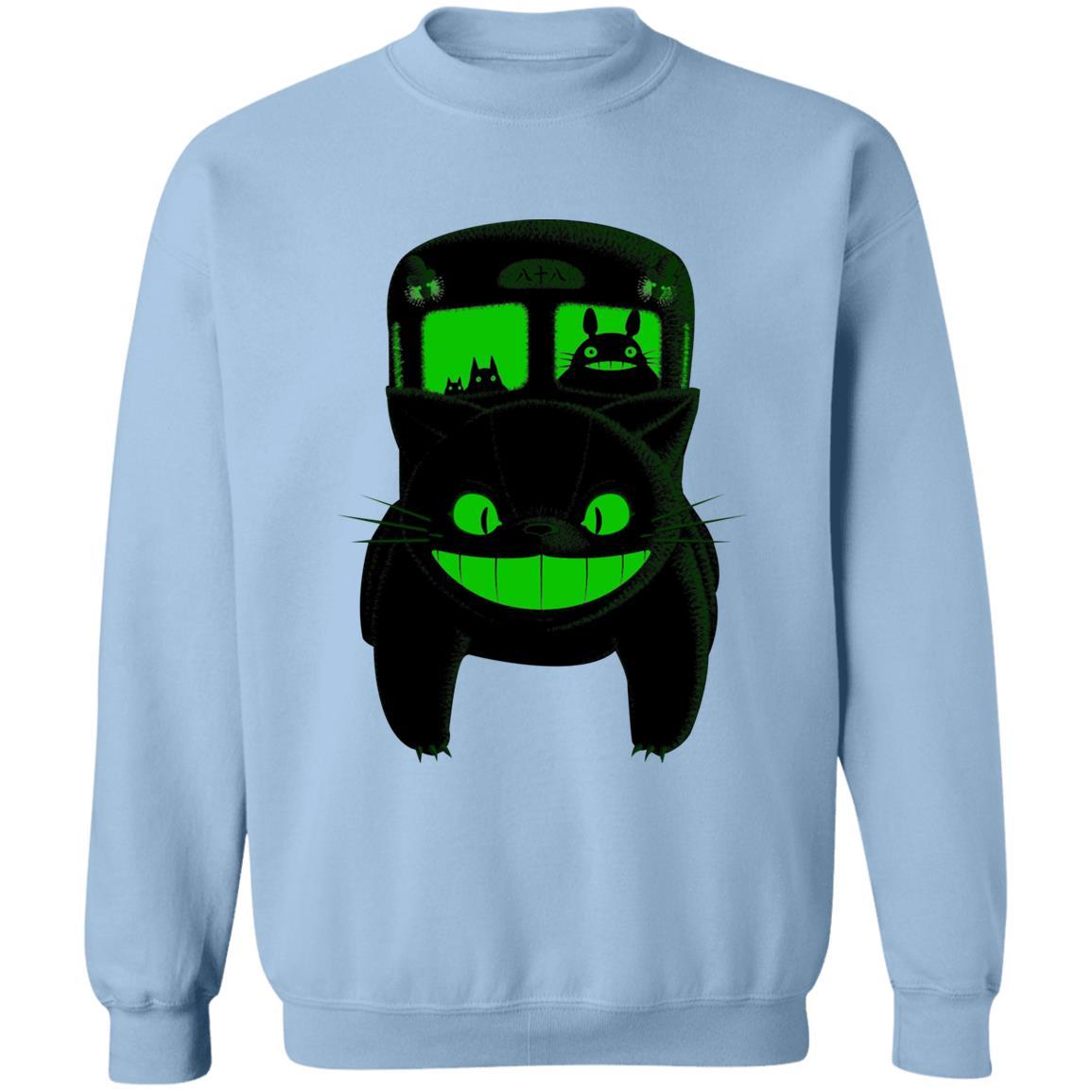 My Neighbor Totoro – Neon Catbus Sweatshirt