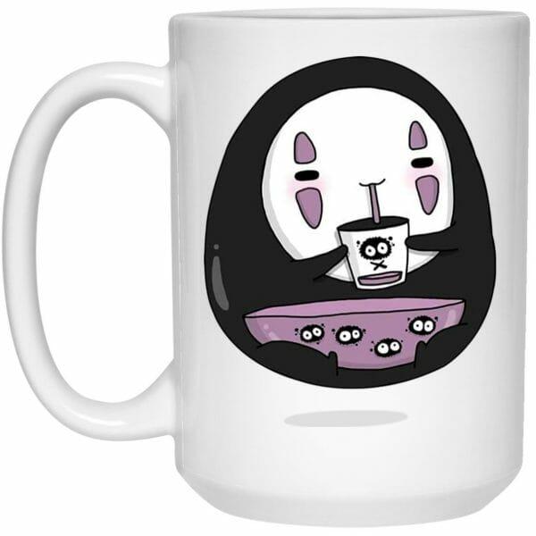 Cute No Face Kaonashi Drinking Tea Mug