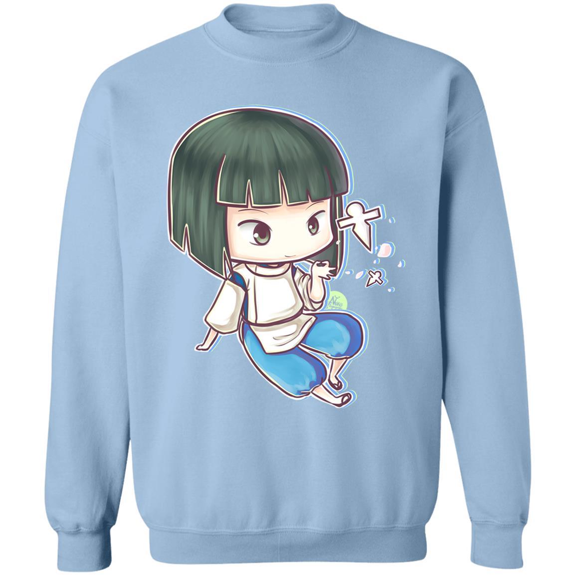 Spirited Aways Haku Chibi Sweatshirt