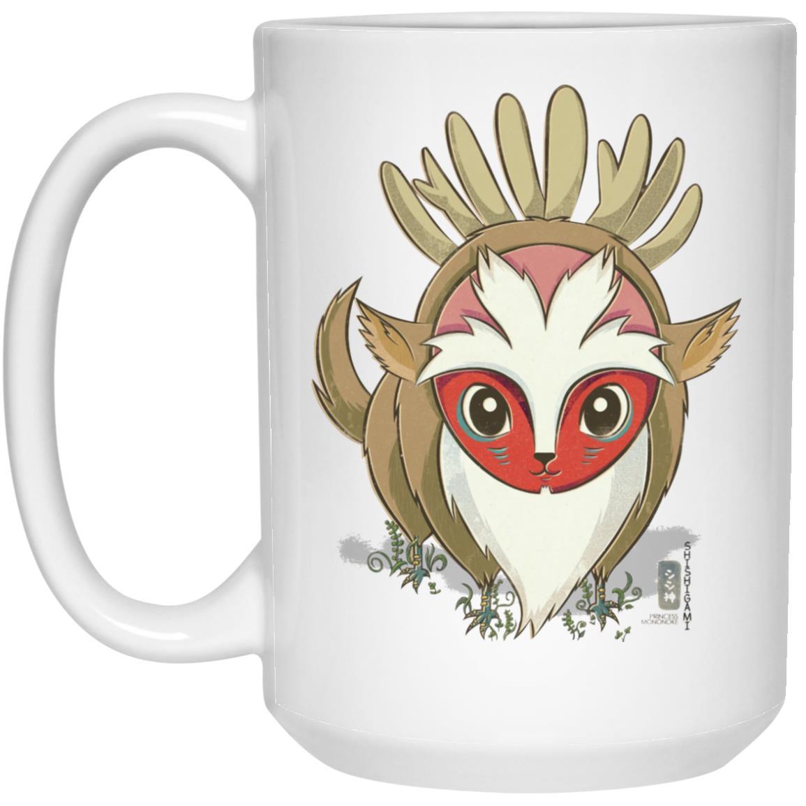 Princess Mononoke – Forest Spirit Chibi Mug