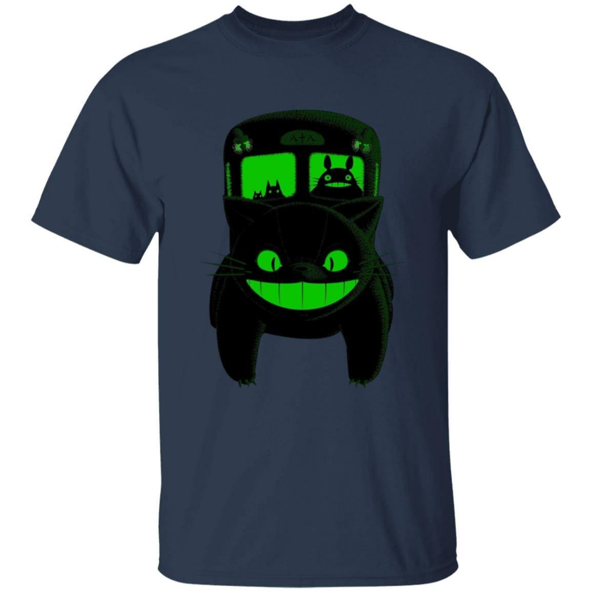 My Neighbor Totoro – Neon Catbus T Shirt