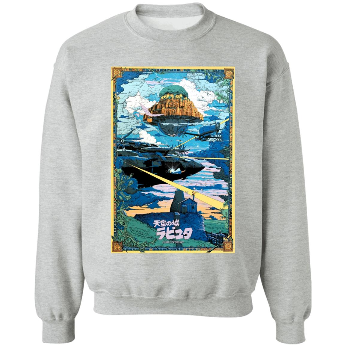 Laputa: Castle In The Sky – War Sweatshirt