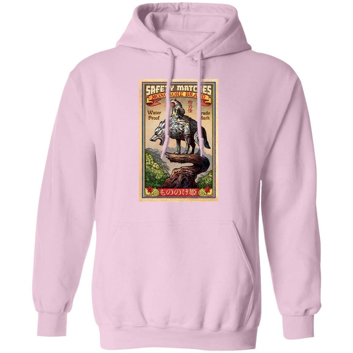 Princess  Mononoke and The Wofl on Top Hoodie