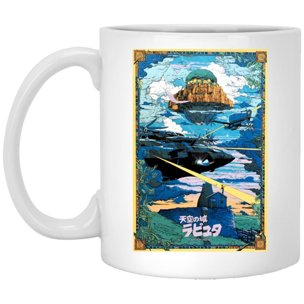 Laputa: Castle In The Sky – War Mug