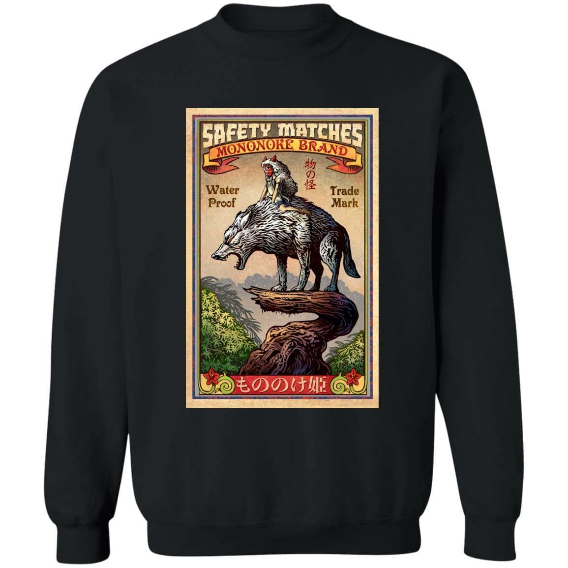 Princess  Mononoke and The Wofl on Top Sweatshirt