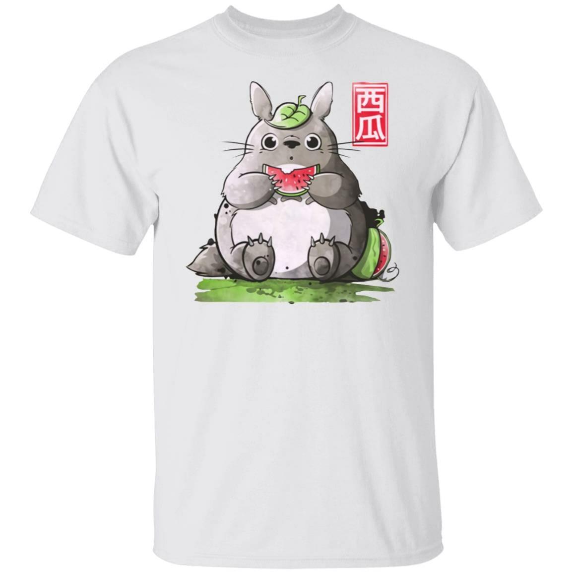 Totoro and Watermelon T Shirt