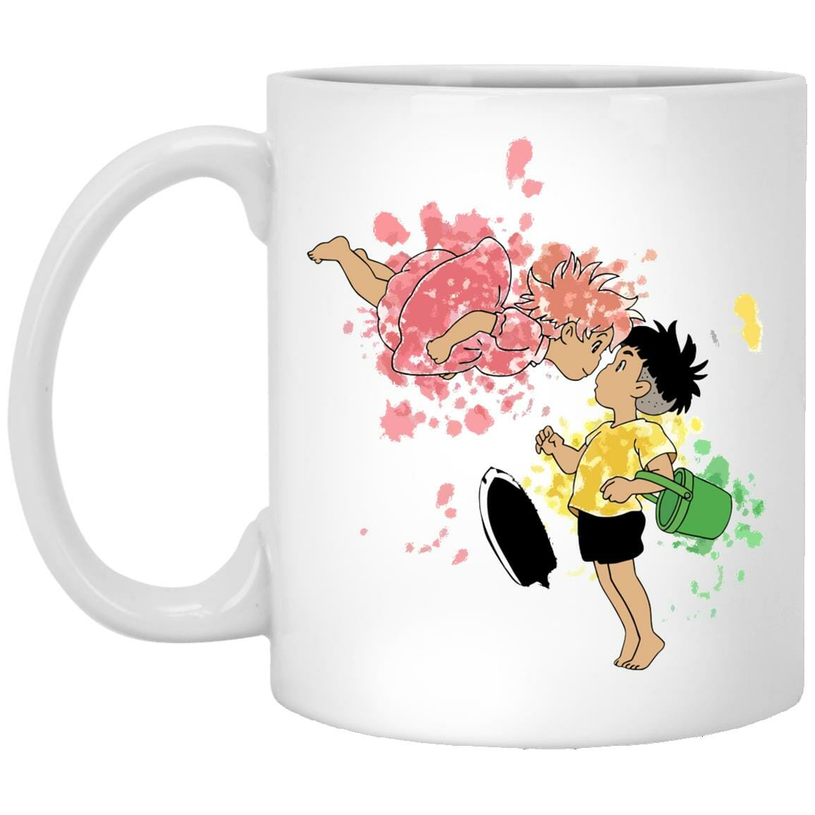 Ponyo and Sosuke Colorful Mug