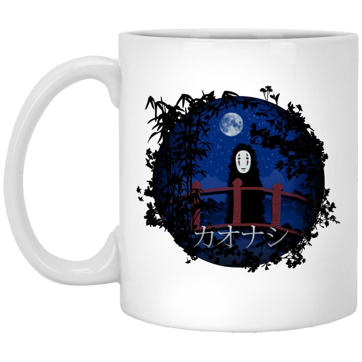 Spirited Away Kaonashi No Face by the blue Moon Mug